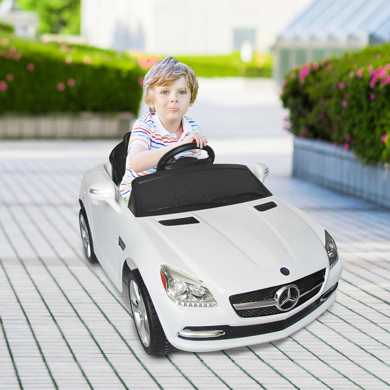Mini-Coche-Electrico-Bateria-6V-para-Ninos-BMW-Mercedes-Benz-con-Control-Remoto