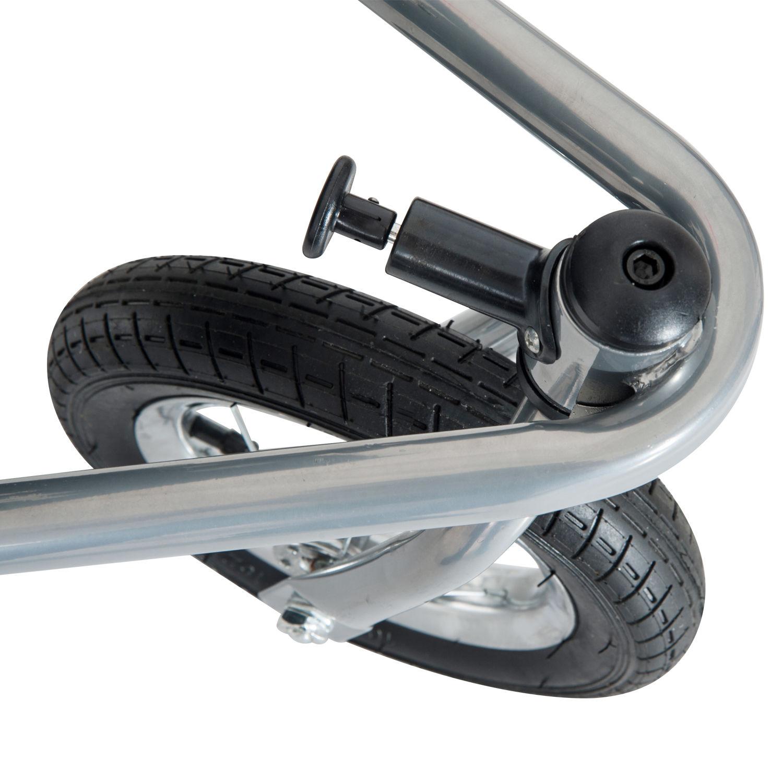 Remolque-Infantil-Bicicleta-2-PLAZAS-Kit-Footing-Rueda-360-Amortiguadores-Barra miniatura 37