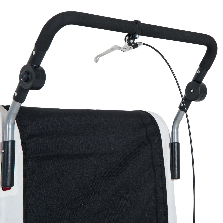 Remolque-Infantil-Bicicleta-2-PLAZAS-Kit-Footing-Rueda-360-Amortiguadores-Barra miniatura 33