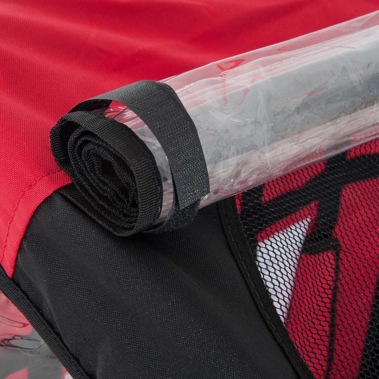 Remolque-Infantil-Bicicleta-2-PLAZAS-Kit-Footing-Rueda-360-Amortiguadores-Barra miniatura 50