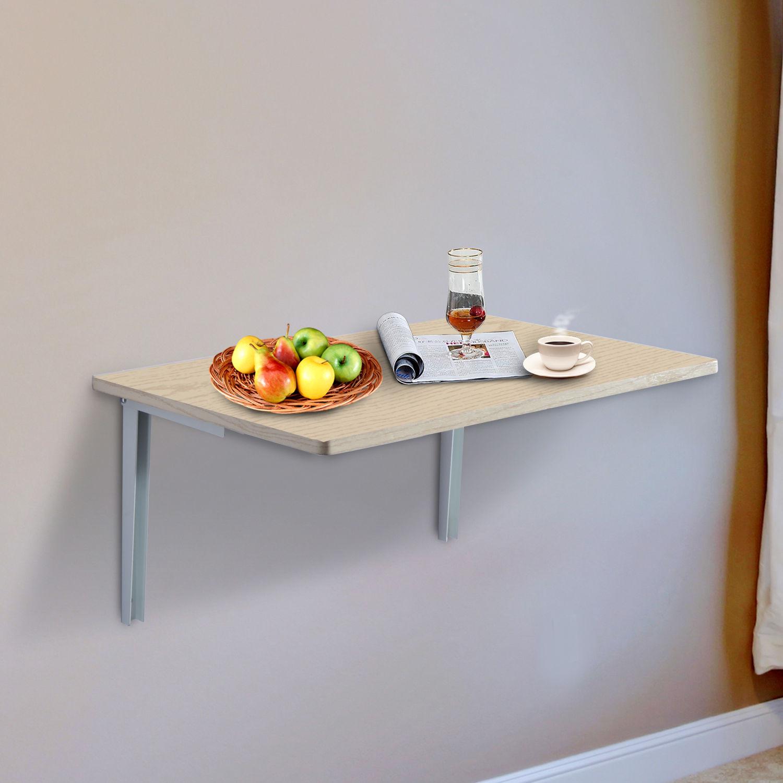 Mesa Plegable de Pared para Cocina y Comedor 60x40x1.5cm Mesa ...