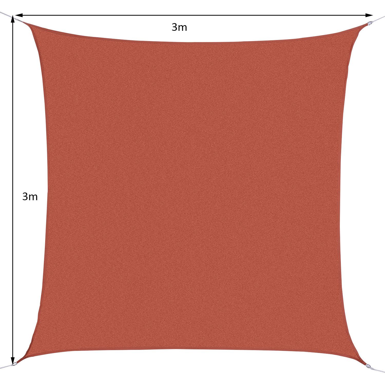 Toldo-de-Vela-Rectangular-para-Jardin-y-Exterior-Repelente-al-Agua-Proteccion-UV miniatura 27