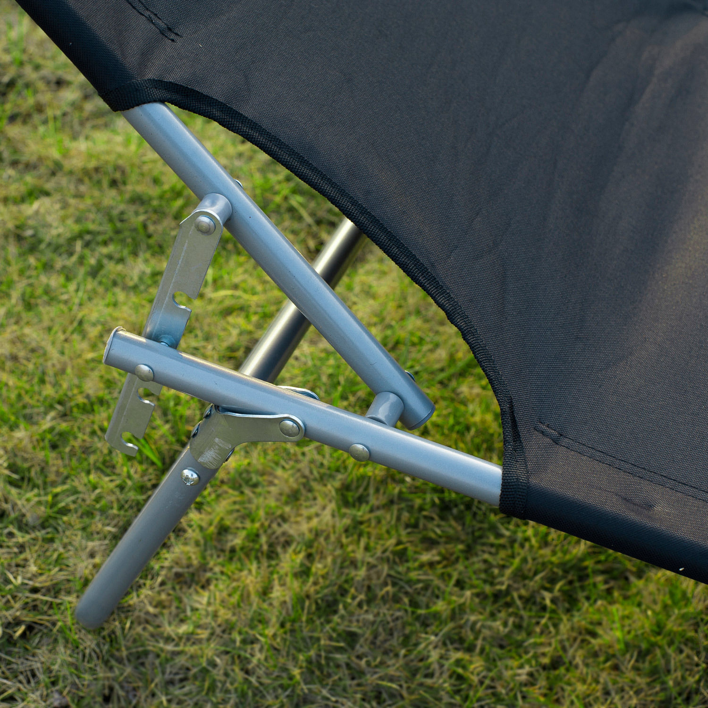 Tumbona-Inclinable-Aluminio-Plegable-Hamaca-Playa-Piscina-con-Parasol-NUEVO miniatura 33