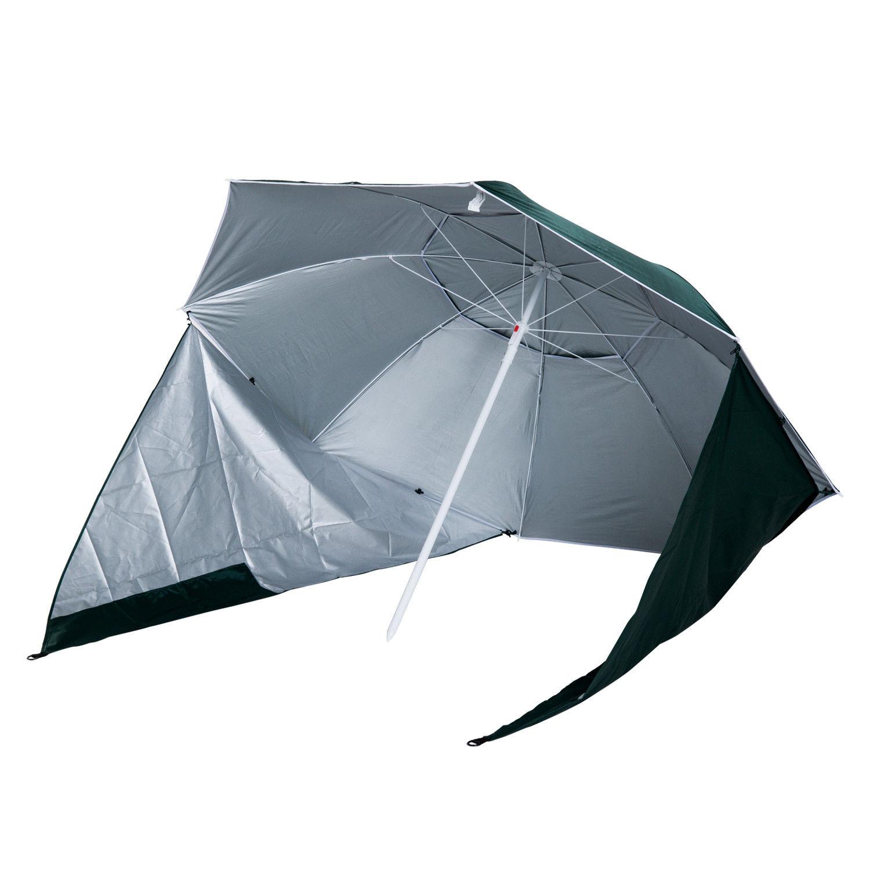Sombrilla-de-Playa-Portatil-con-Paravientos-Tienda-Camping-Parasol-Proteccion-UV miniatura 25