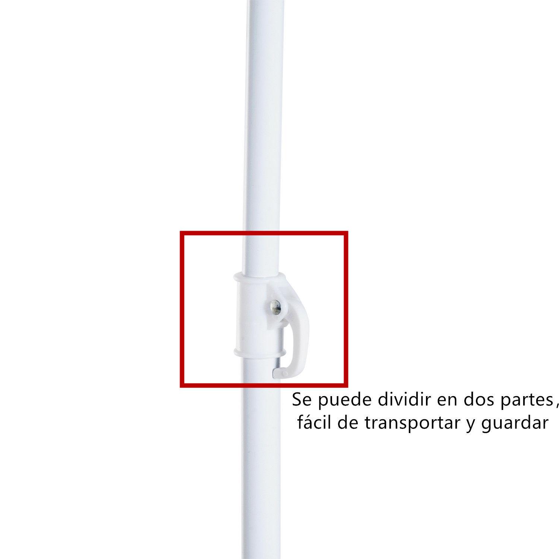 Sombrilla-de-Playa-Portatil-con-Paravientos-Tienda-Camping-Parasol-Proteccion-UV miniatura 10