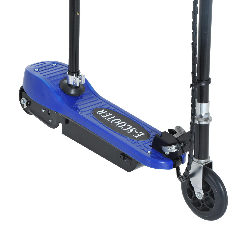 Patinete-Electrico-Plegable-E-Scooter-Bateria-120W-Manillar-Asiento-Ajustable miniatura 12