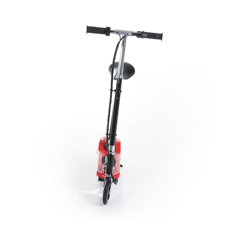 Patinete-Electrico-Plegable-E-Scooter-Bateria-120W-Manillar-Asiento-Ajustable