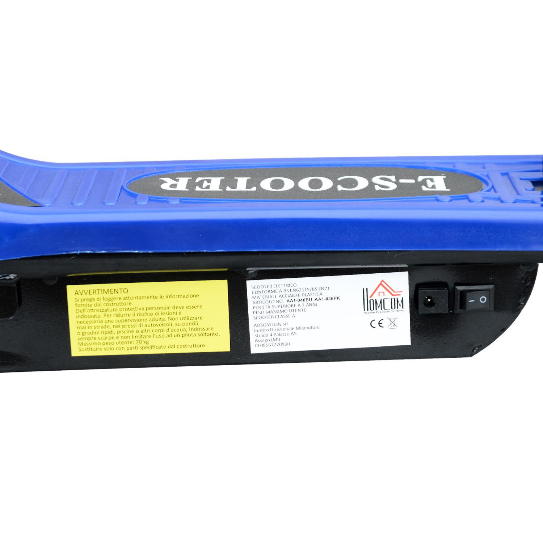 Patinete-Plegable-con-Manillar-Ajustable-tipo-Scooter-Electrico-de-Acero-Nuevo miniatura 11