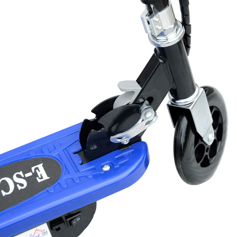 Patinete-Plegable-con-Manillar-Ajustable-tipo-Scooter-Electrico-de-Acero-Nuevo miniatura 10