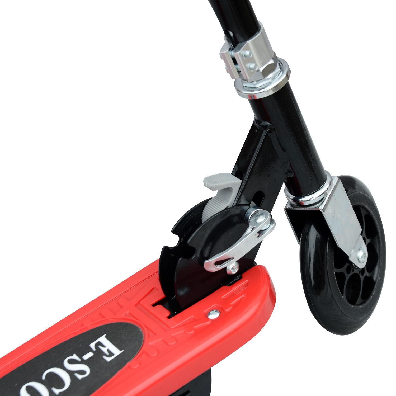 Patinete-Plegable-con-Manillar-Ajustable-tipo-Scooter-Electrico-de-Acero-Nuevo miniatura 34