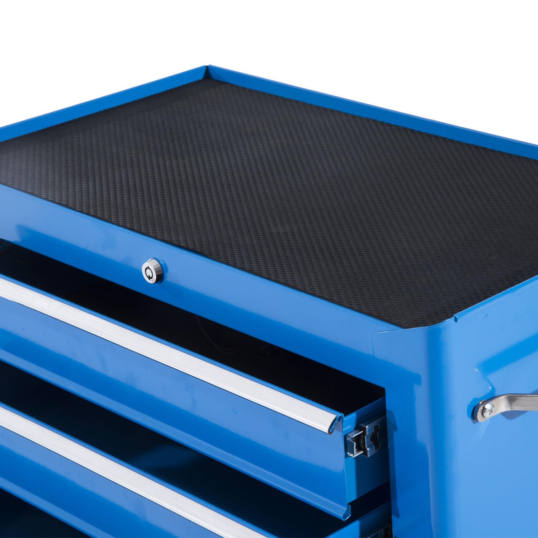 Carro de herramientas taller movil maletin con 5 cajones - Maletin herramientas con ruedas ...
