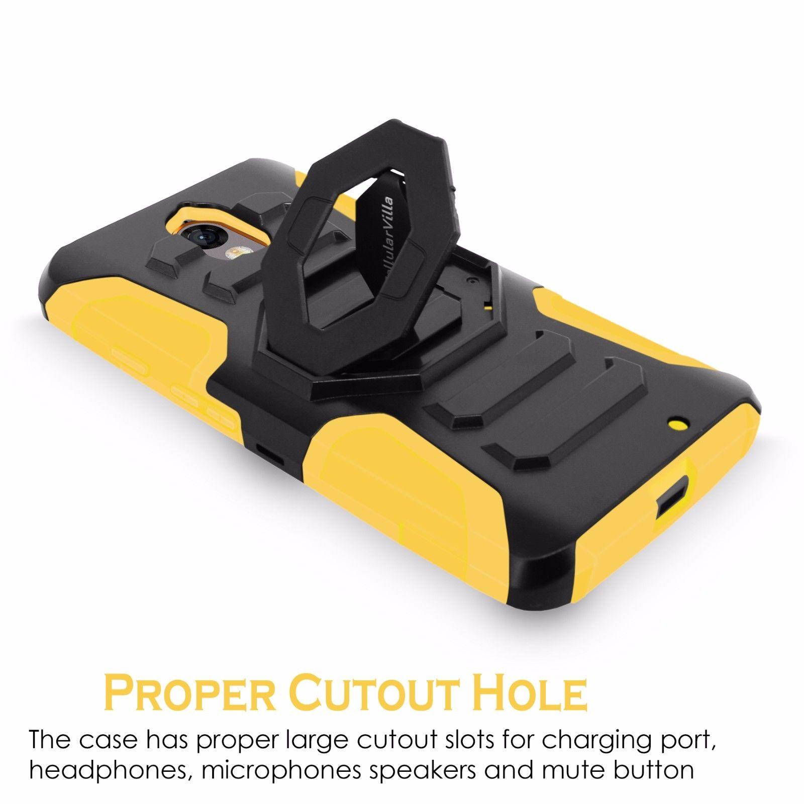 For-Motorola-Droid-Turbo-2-Armor-Heavy-Duty-Rugged-Hybrid-Hard-Belt-Clip-Case