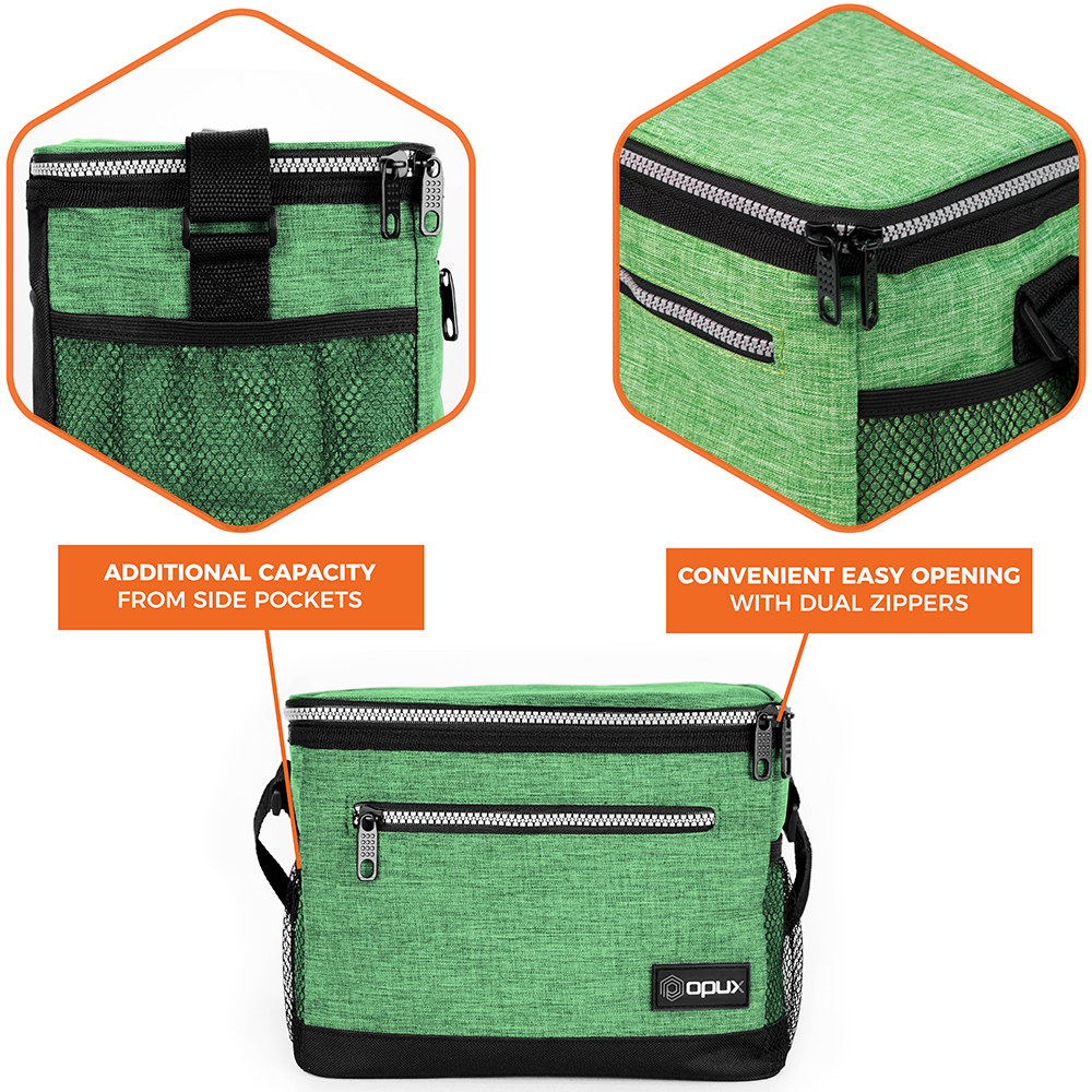 Insulated Lunch Bag Adult Lunch Box for Work School Men ...