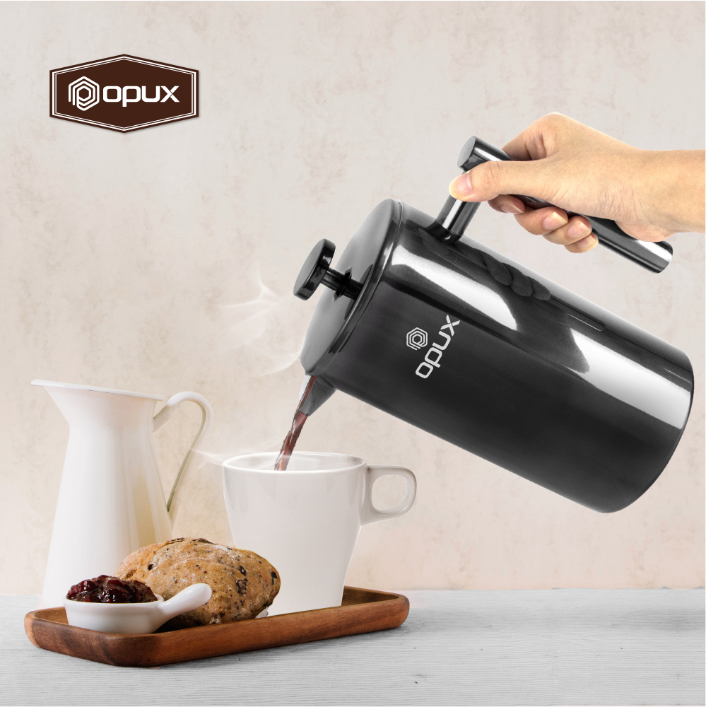 32oz-Insulated-Double-Wall-French-Press-Stainless-Steel-Pour-Over-Coffee-Maker thumbnail 12