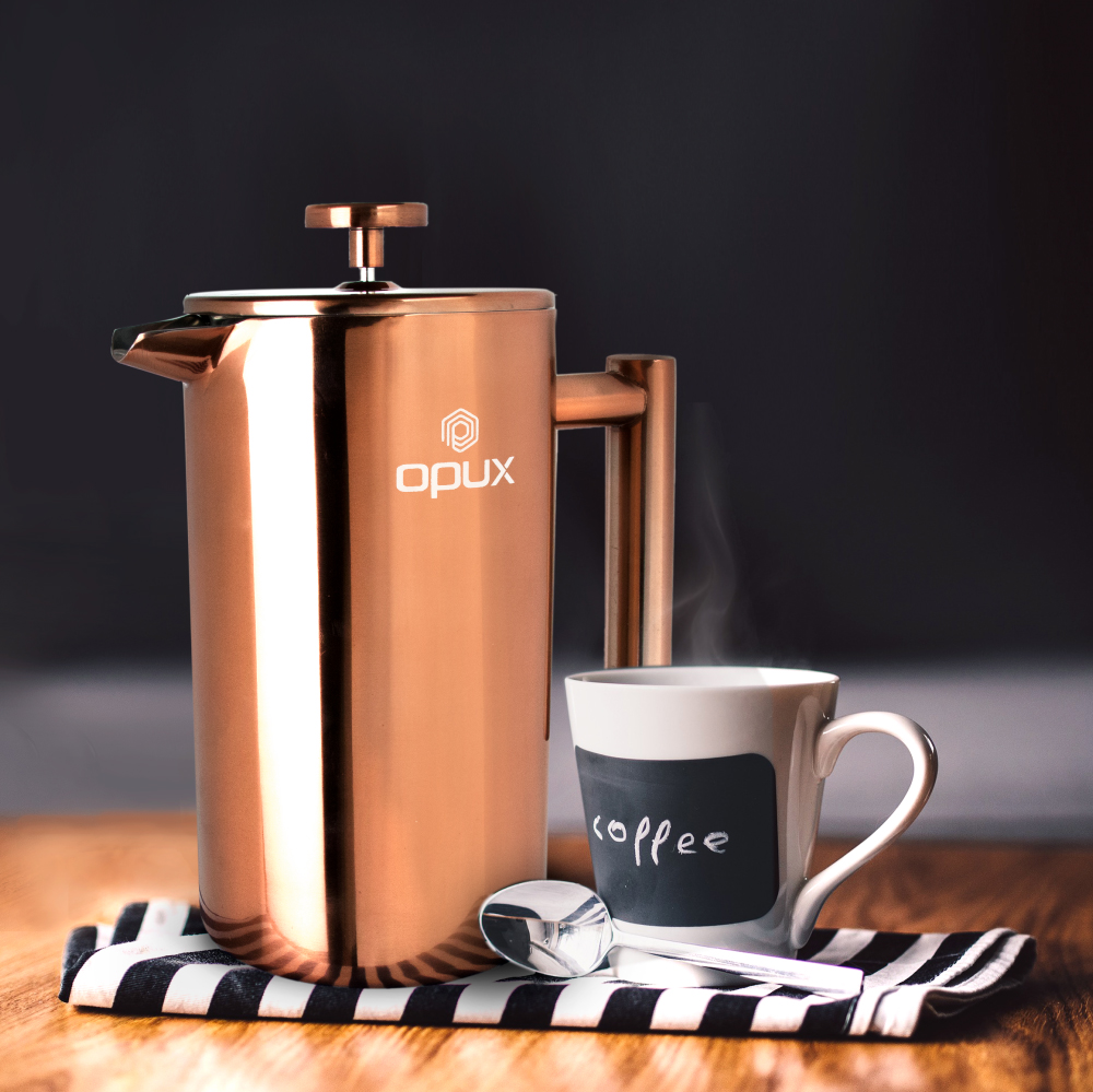 32oz-Insulated-Double-Wall-French-Press-Stainless-Steel-Pour-Over-Coffee-Maker thumbnail 23