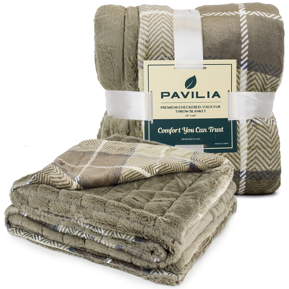 Sherpa-Blanket-Throw-Soft-Fleece-Reversible-Blanket-Sofa-Couch-Bed-Microfiber thumbnail 38