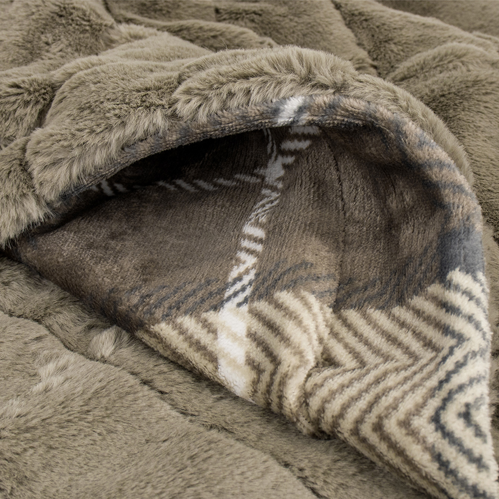 Sherpa-Blanket-Throw-Soft-Fleece-Reversible-Blanket-Sofa-Couch-Bed-Microfiber thumbnail 41
