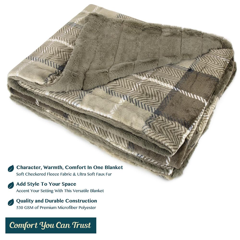 Sherpa-Blanket-Throw-Soft-Fleece-Reversible-Blanket-Sofa-Couch-Bed-Microfiber thumbnail 42