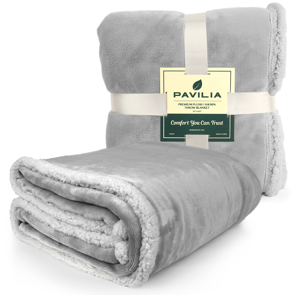 Sherpa-Blanket-Throw-Soft-Fleece-Reversible-Blanket-Sofa-Couch-Bed-Microfiber thumbnail 50