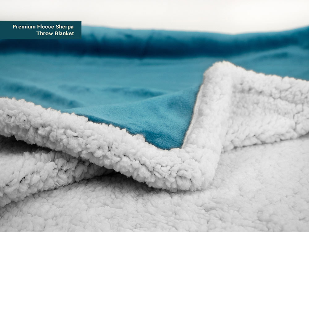 Sherpa-Blanket-Throw-Soft-Fleece-Reversible-Blanket-Sofa-Couch-Bed-Microfiber thumbnail 63
