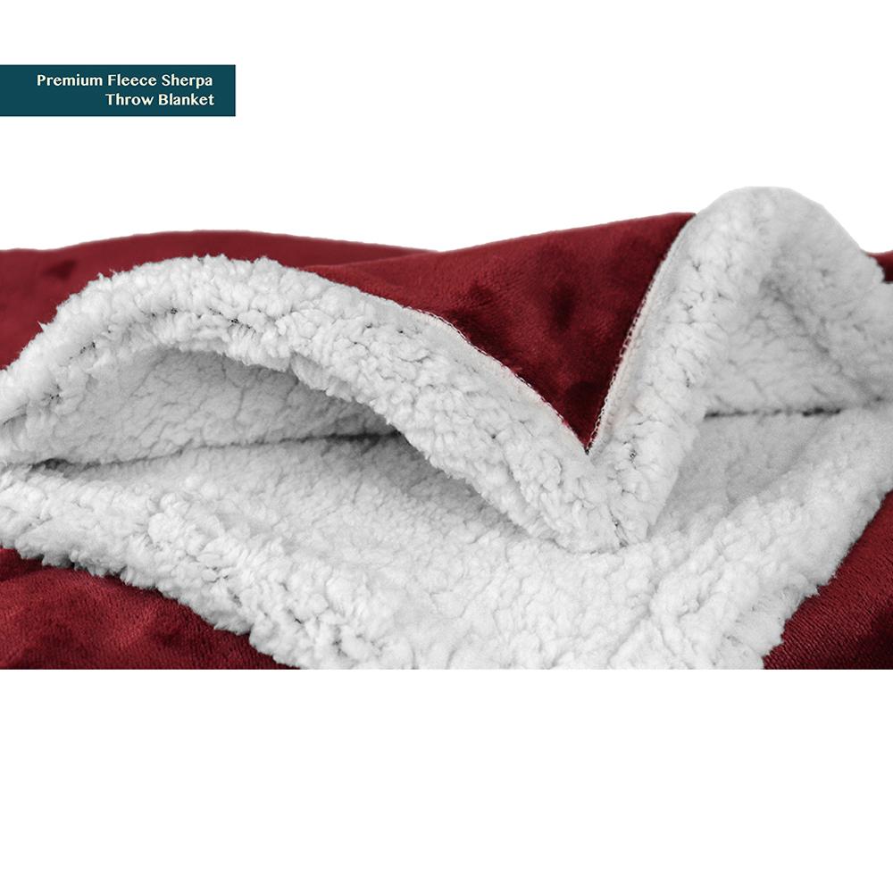Sherpa-Blanket-Throw-Soft-Fleece-Reversible-Blanket-Sofa-Couch-Bed-Microfiber thumbnail 117