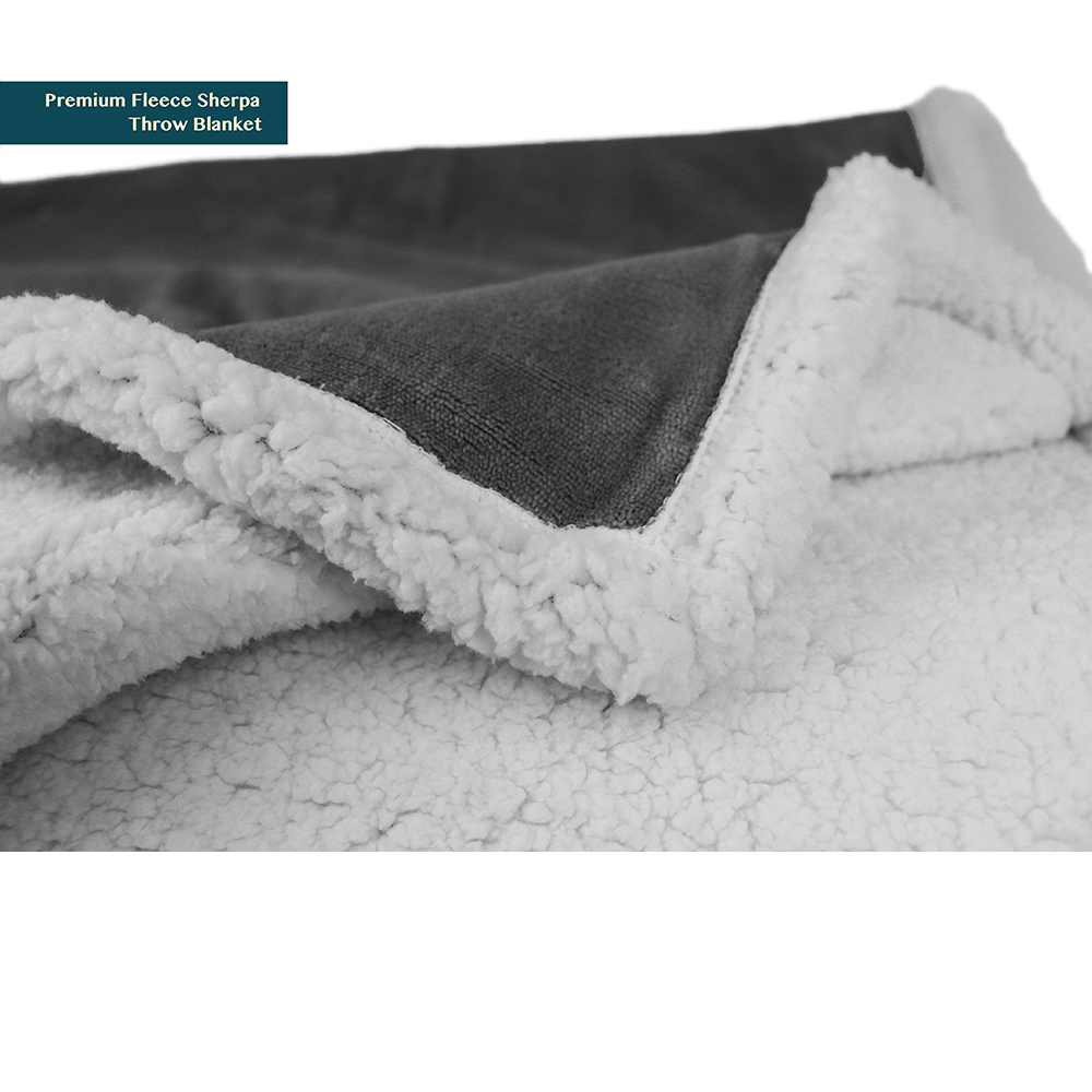Sherpa-Blanket-Throw-Soft-Fleece-Reversible-Blanket-Sofa-Couch-Bed-Microfiber thumbnail 81