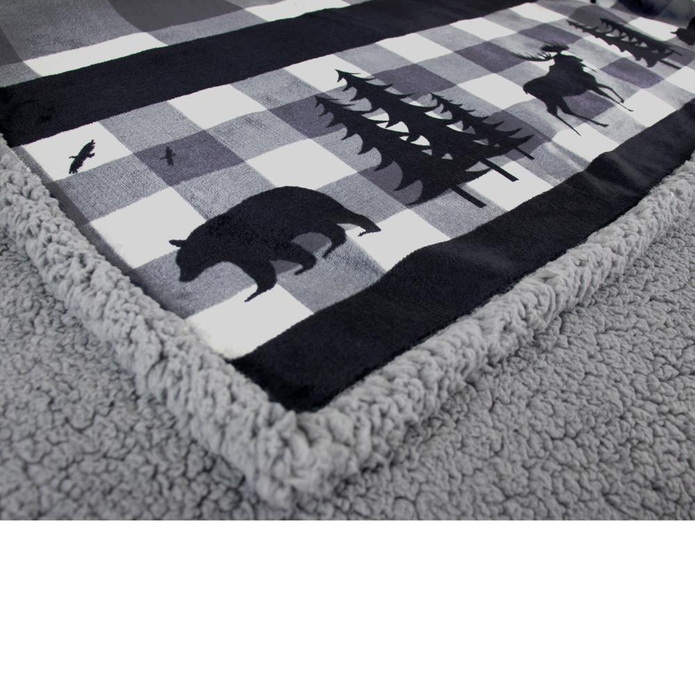 Sherpa-Blanket-Throw-Soft-Fleece-Reversible-Blanket-Sofa-Couch-Bed-Microfiber thumbnail 29