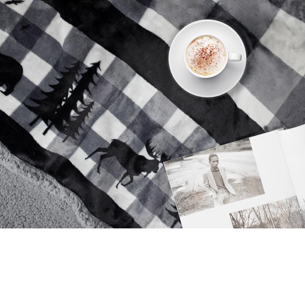 Sherpa-Blanket-Throw-Soft-Fleece-Reversible-Blanket-Sofa-Couch-Bed-Microfiber thumbnail 30