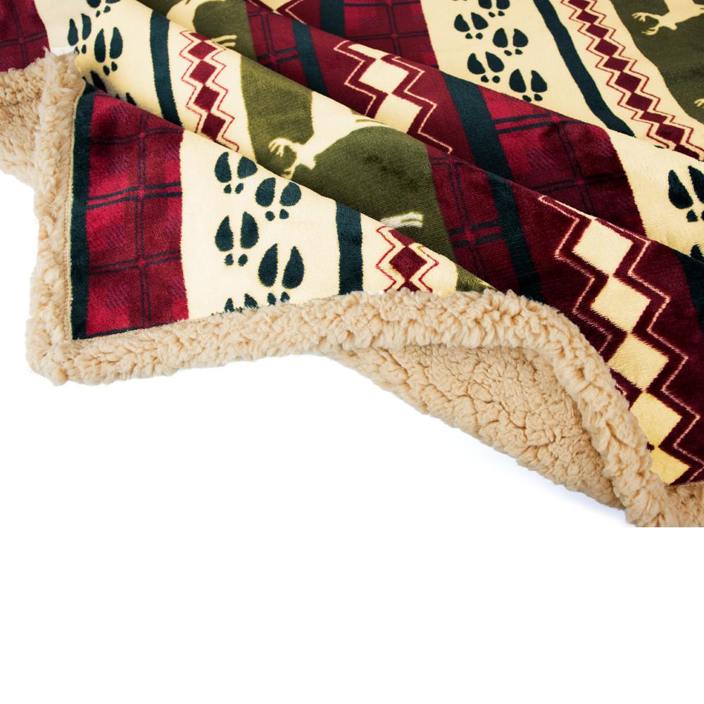 Sherpa-Blanket-Throw-Soft-Fleece-Reversible-Blanket-Sofa-Couch-Bed-Microfiber thumbnail 34