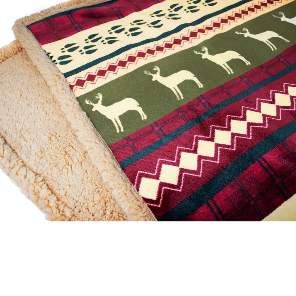 Sherpa-Blanket-Throw-Soft-Fleece-Reversible-Blanket-Sofa-Couch-Bed-Microfiber thumbnail 35