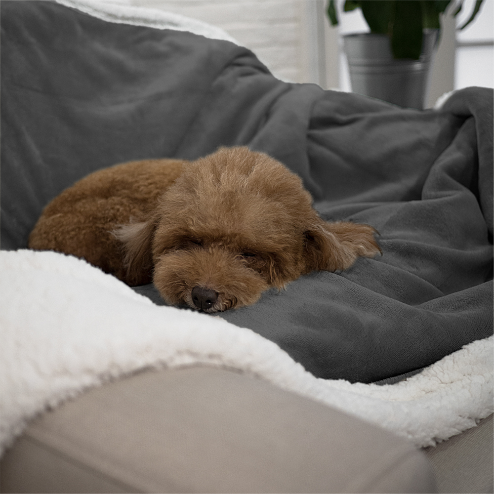 100% Waterproof Dog Blanket For Bed Couch Furniture Puppy