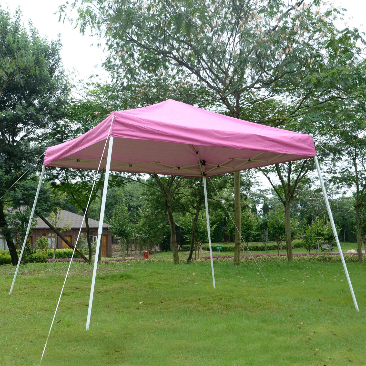 10 X 10 Ez Pop Up Canopy Outdoor Slant Leg Wedding Party