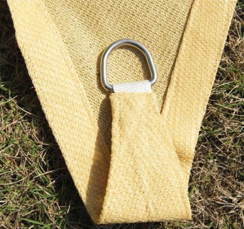 Sun-Shade-Sail-UV-Top-Cover-Outdoor-Canopy-Patio-Triangle-Square-Rectangle-w-Bag thumbnail 11