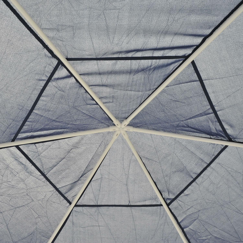 Hexagonal-Patio-Gazebo-Outdoor-Canopy-Party-Tent-Activity-Event-w-Mosquito-Net thumbnail 18