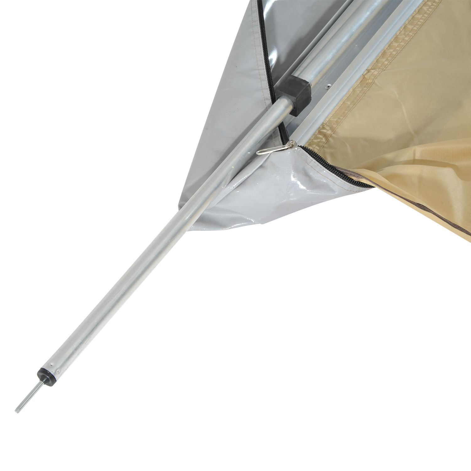 Outsunny Tent Awning Rooftop Shelter SUV Truck Car Camping