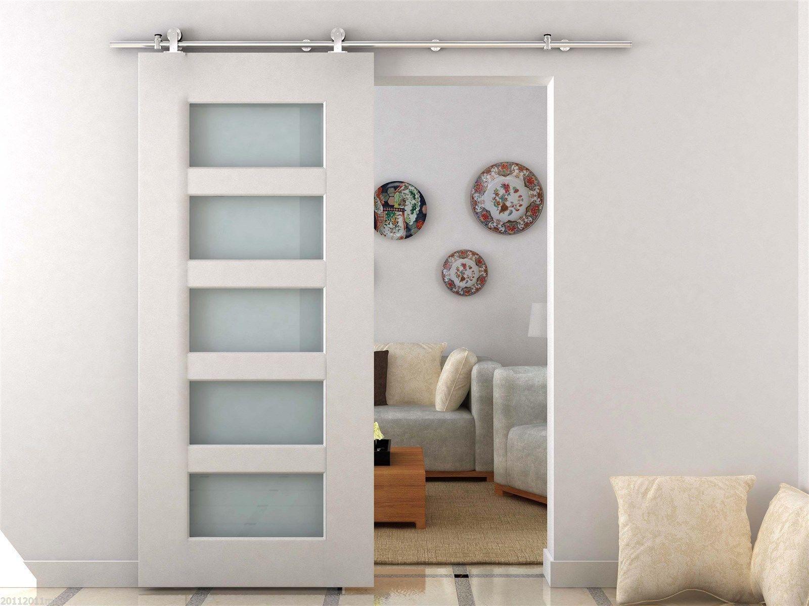 6-6-039-Modern-Style-Stainless-Steel-Sliding-Barn-Door-Hardware-Track-Rail-Kit-Pack