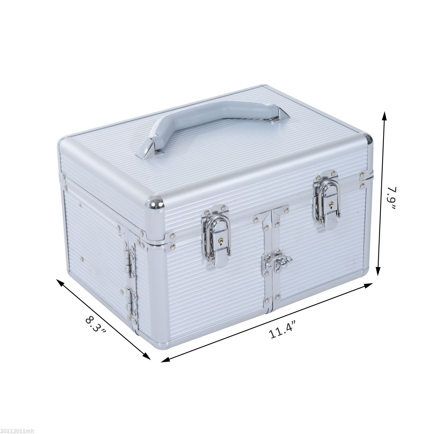 Pro-Aluminum-Makeup-Train-Case-Cosmetic-Trolley-Storage-Organizer