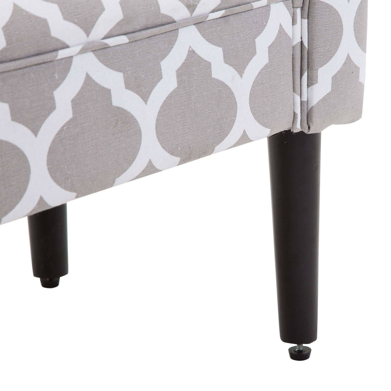 Elegant-Rolled-Arm-Bench-Bedside-End-of-Bed-Footstool-w-Arms-2-SIZE