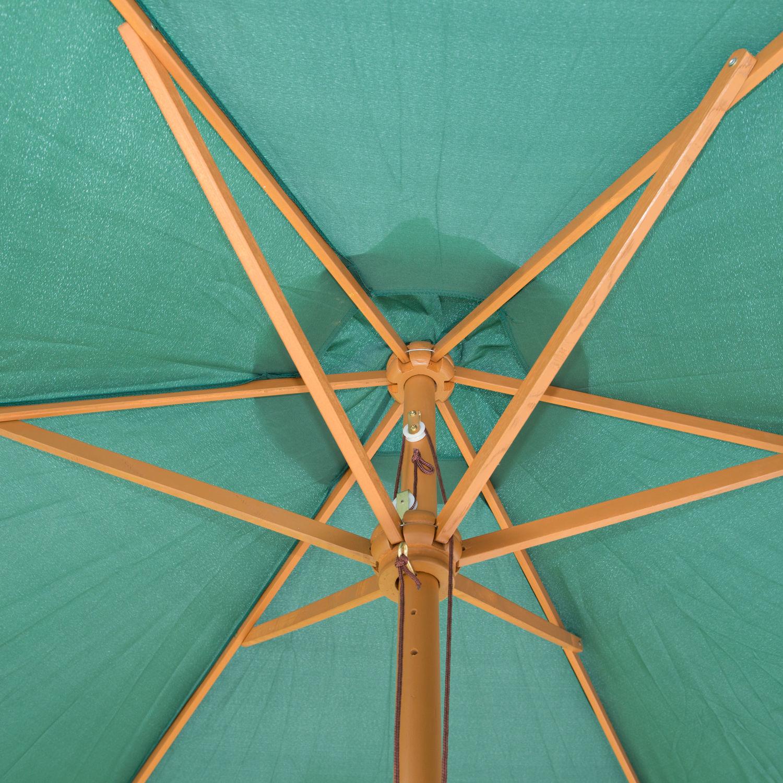 9-039-x-8-039-H-Wooden-Round-Market-Patio-Sun-Umbrella-Garden-Parasol-Outdoor-Sunshade thumbnail 14