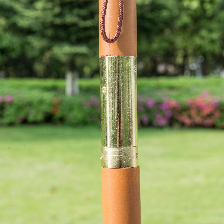 9-039-x-8-039-H-Wooden-Round-Market-Patio-Sun-Umbrella-Garden-Parasol-Outdoor-Sunshade thumbnail 24