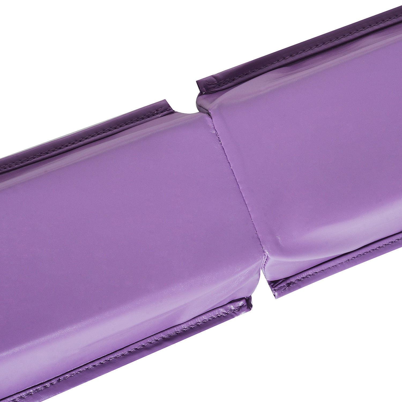 8FT-Folding-Floor-Balance-Beam-Foam-Gymnastic-Training-Low-Height-Beam-3-Color thumbnail 34