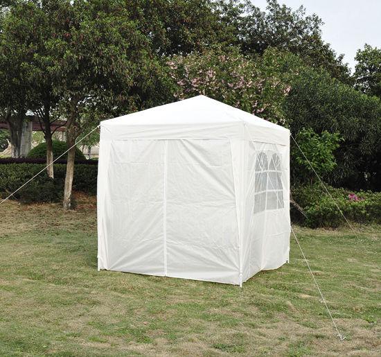 2mx2m White Garden Heavy Duty Pop Up Gazebo Marquee Party