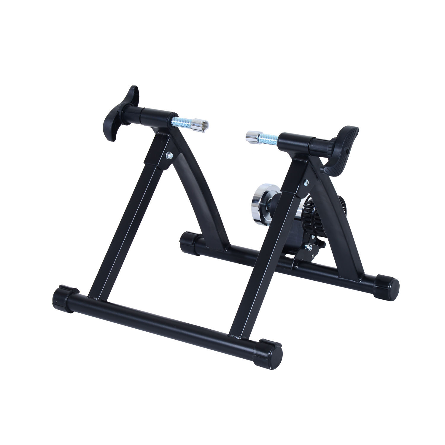 Foldable Indoor Bicycle Bike Turbo Trainer Fan Fly Wind