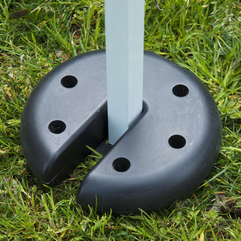 Outsunny Tent Weight Base 4pcs Gazebo Foot Leg Pole Anchor