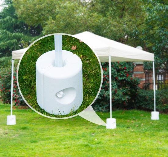 Outsunny Tent Weight Base 4pcs Gazebo Foot Leg Anchor