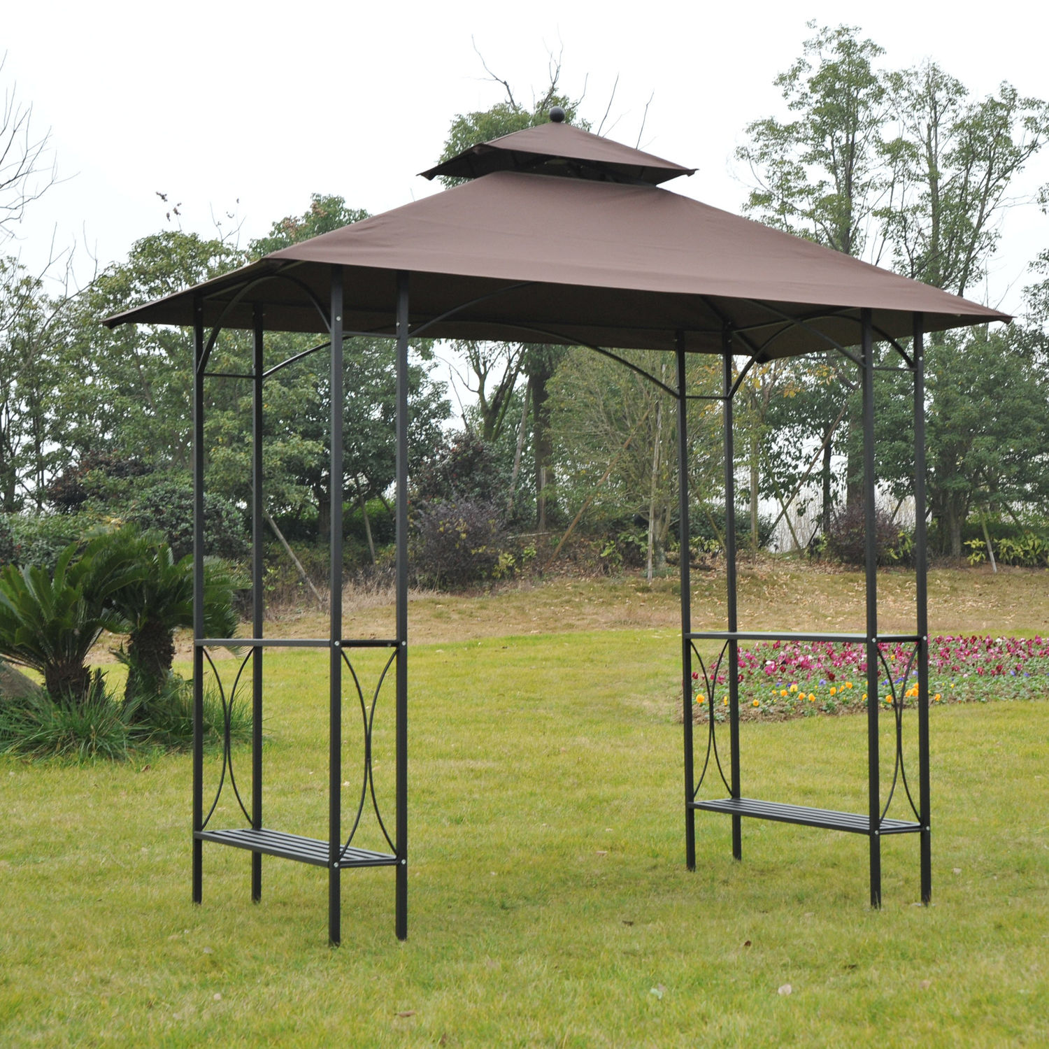 outdoor ideas pinterest grill about gazebo best canopy awning french bbq creative on