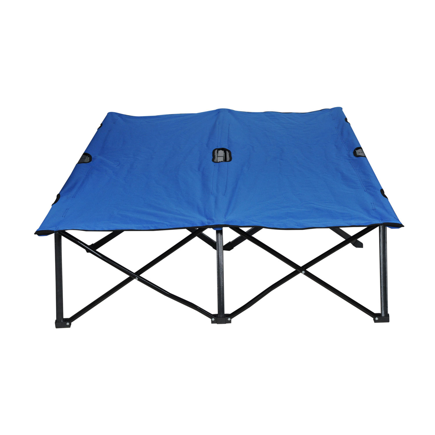 Outsunny Double Folding Bed Indoor Outdoor Portable