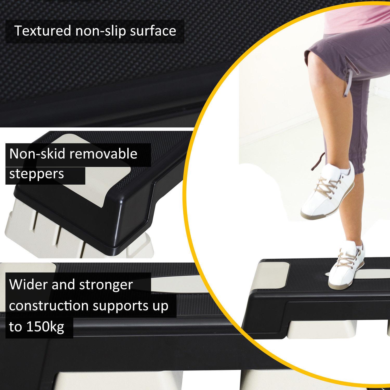 3-Levels-Aerobic-Stepper-Adjustable-Fitness-Exercise-Board-Step-Gym-Platform