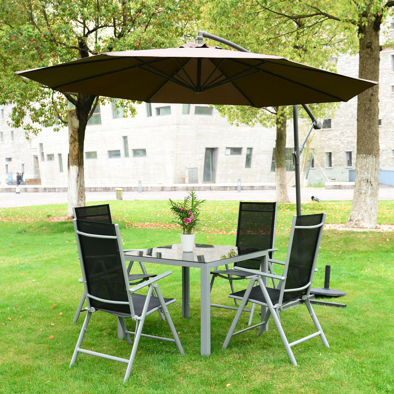 5pc Rattan Wicker Garden Furniture Sofa Set or 3m Garden ...