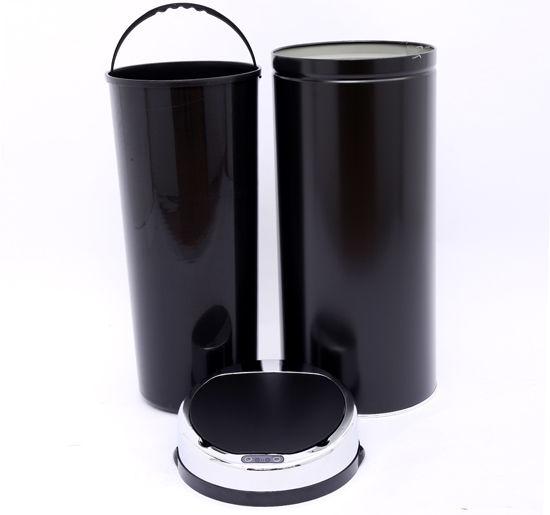 ACCIAIO-Inox-Automatico-Sensore-PATTUMIERA-IMMONDIZIA-SPAZZATURA-CUCINA-CESTINO-NUOVO miniatura 26